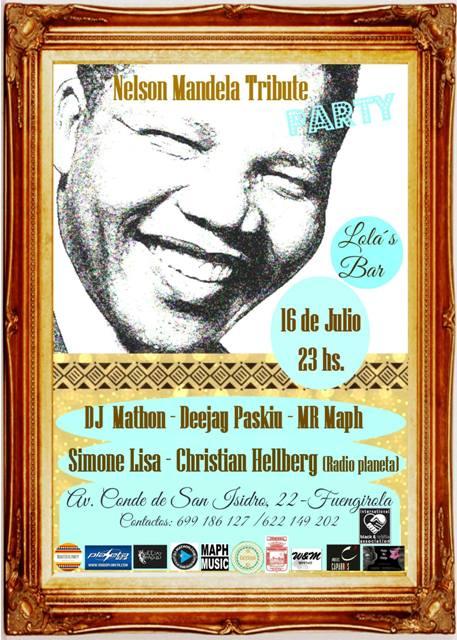 Nelson Mandela Tribute Party